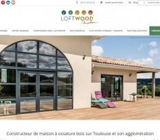 Maison ossatures bois Toulouse