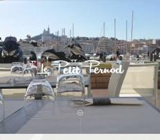 Restaurant au vieux port de Marseille