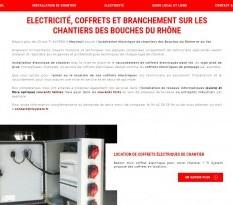 coffret electrique de chantier marseille