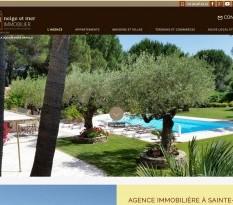 agence immobilière en centre ville sur Sainte Maxime