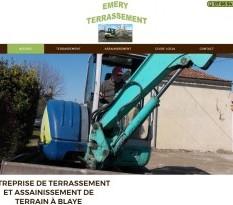 Société d'assainissement et terrassement à Blaye