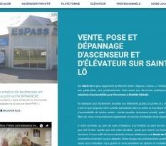 vente et pose de plate forme pour PMR sur Saint-Lô
