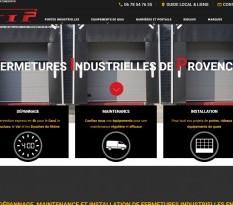 Installation de porte industrielle à Arles