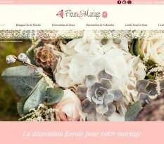 Décoration florale pour salle de cérémonie à Lyon