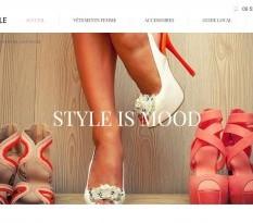 vente en ligne de vêtements pour femme