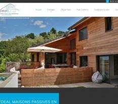 Construction maison écologique en bois Gironde
