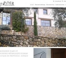 Fabrication escalier fer forgé Aix-en-Provence