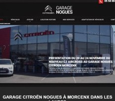 garage citroen Morcenx