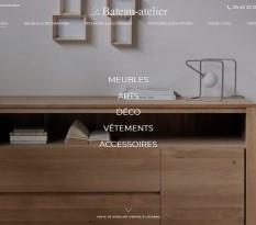 Boutique de meubles en bois Lacanau