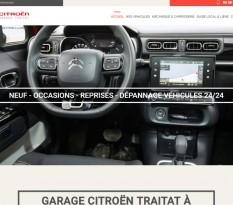 Garage auto concession Citroën Laurède