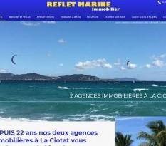Transactions immobilières à la Ciotat -Reflet Marine