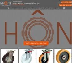 roues et roulettes industrielles