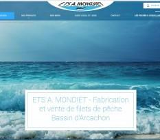 Fabricant de filets de pêche en Gironde - Mondiet