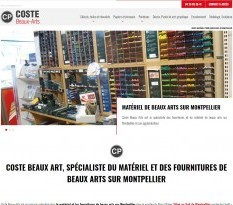 magasin fournitures beaux arts Montpellier