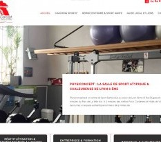 Salle de sport avec coach personnel à Lyon - Physiconcept