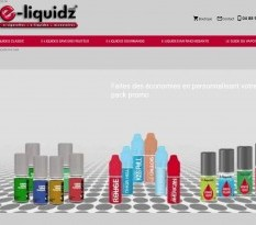 Vente en ligne de e-liquide - E Liquidz