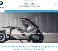 Concession BMW Motorrad à Rouen - Moto Technic