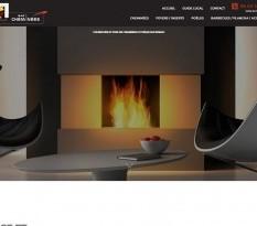 Vente et pose de cheminées design à Pessac - BAti Cheminées