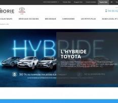 Concessionnaire Toyota à Uzès - Laborie